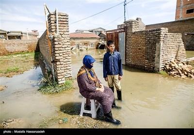 ایران کے صوبے گلستان میں سیلاب