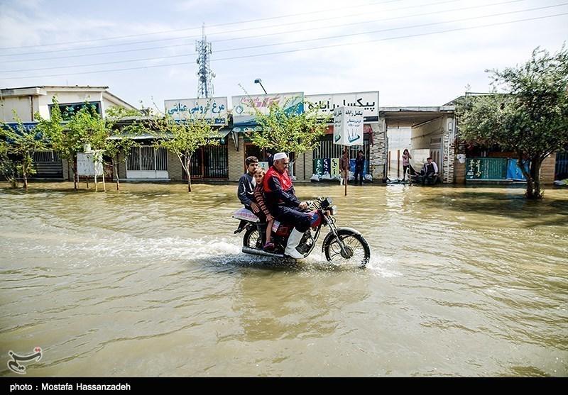 بارندگی و سیلاب خراسان رضوی محورهای مواصلاتی 15 روستا را مسدود کرد