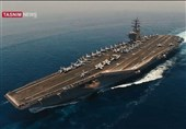CENTCOM Confirms IRGC Video of US Aircraft Carrier in Persian Gulf