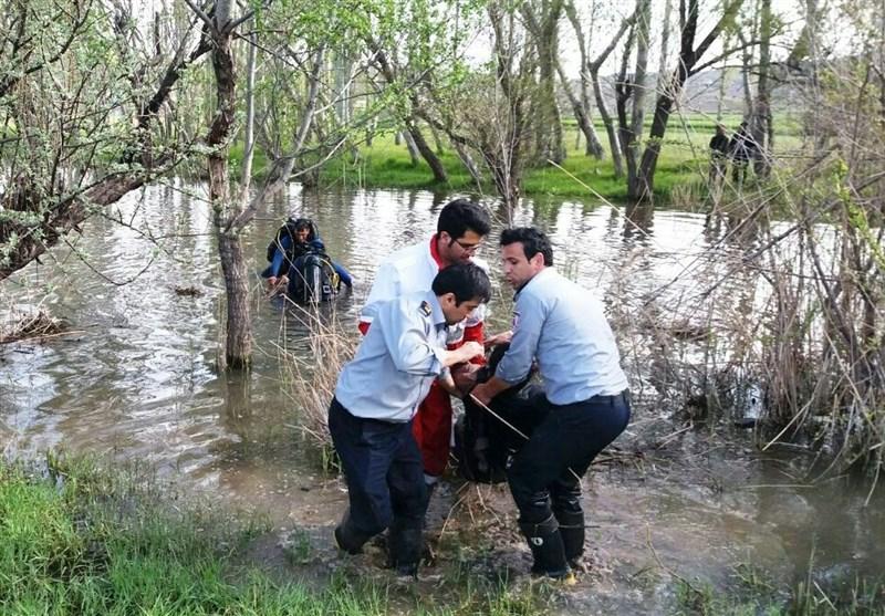 لرستان|جسد سرباز غرقشده در رودخانه کشکان پیدا شد