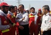 امدادرسانی یک ماهه آتشنشانان تهران در مناطق سیلزده خوزستان + تصاویر