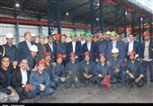 وزیر صنعت در جمع کارگران جهان فولاد کرمانشاه حضور یافت