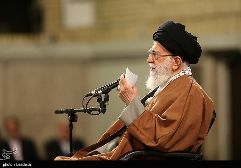 """امام خامنهای: میخواهند با """"2030"""" برای آمریکا سرباز درست کنند/در مقابل آرایش جنگی، ملت هم باید آرایش مناسب بگیرد"""