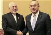 دیدار ظریف با وزرای خارجه قطر و ترکیه