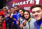 صعود نمایندگان کاراته ایران در رنکینگ المپیک