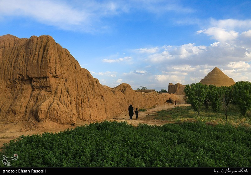 The Jalali Castle in Kashan, Iran