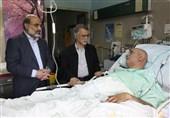 رئیس رسانهملی به عیادت جمال شورجه رفت / سریال «موسی » متوقف نمیشود