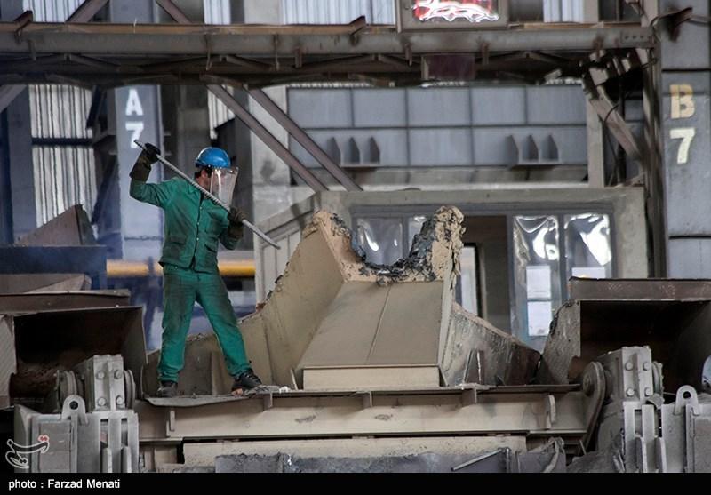 کارخانه ذوب آهن بیستون کرمانشاه