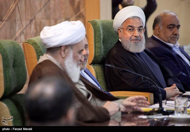 حجت الاسلام حسن روحانی رئیس جمهور