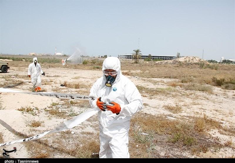برگزاری رزمایش پرتوی شهدای خلیج فارس بوشهر به روایت تصویر