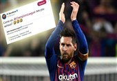فوتبال جهان| واکنش جالب باشگاه بارسلونا به نظرسنجی یوفا برای انتخاب بازیکن هفته اروپا