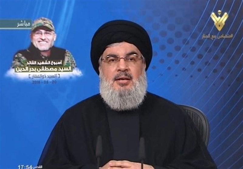 نصرالله : الألویة الإسرائیلیة التی ستفکر بدخول لبنان ستدمر بالکامل أمام العالم