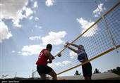 مسابقات والیبال ساحلی قهرمانی خراسان شمالی به روایت تصاویر