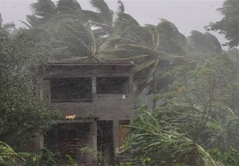اردبیل| روستای تولون گرمی به دلیل طوفان و تگرگ خسارات زیادی را متحمل شد