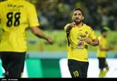 اصفهان| سپاهان برابر پدیده تنها 20 دقیقه فوتبال بازی کرد