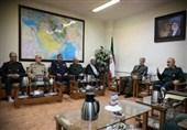 سرلشکر سلامی در دیدار وزیر دفاع: روزی ما بر اساس نفت پایهگذاری نشده است