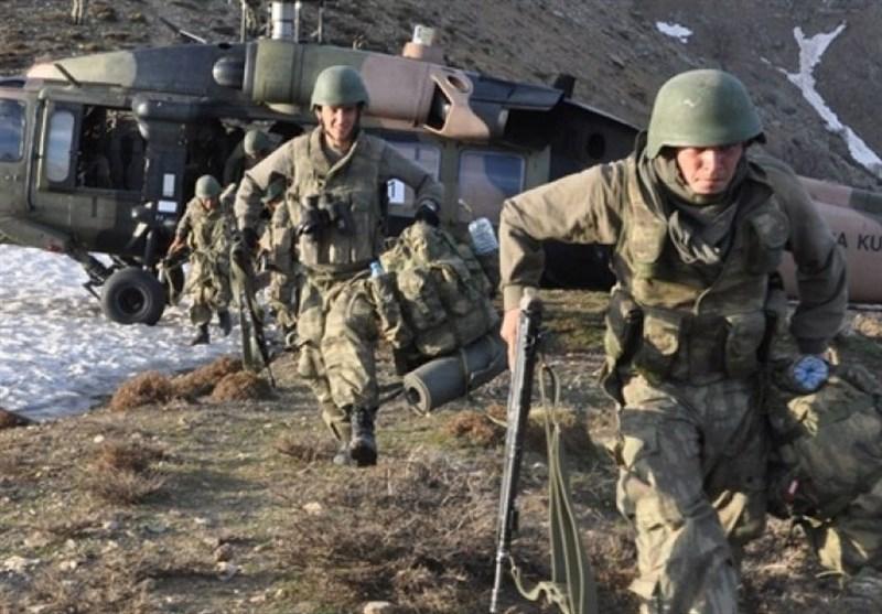 کشته شدن 3 نظامی ترکیه بر اثر حملات پ.ک.ک