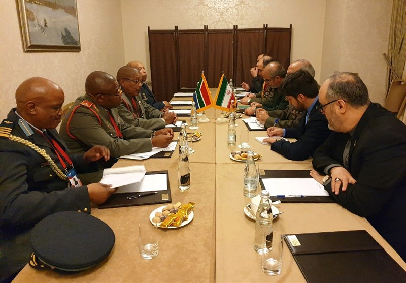 Iran Eyes Strategic Defense Ties with South Africa
