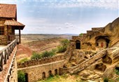 کشیشهای گرجی بزرگراه ورود به جمهوری آذربایجان را بستند