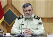 Police Chief Hails Good Security along Iran-Afghanistan Border