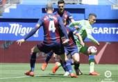فوتبال جهان  صعود ایبار به رده یازدهم با غلبه بر بتیس