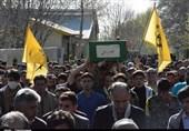 تهران  پیکر شهید مدافع حرم «رسولی» در شهرستان دماوند تشییع شد+تصاویر