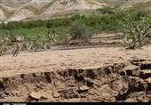 سیلاب در مناطق روستایی کلاله جاری شد