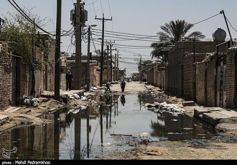 یک ماه از بحران سیلاب در خوزستان گذشت؛ عین۲ غرق در آب + تصاویر