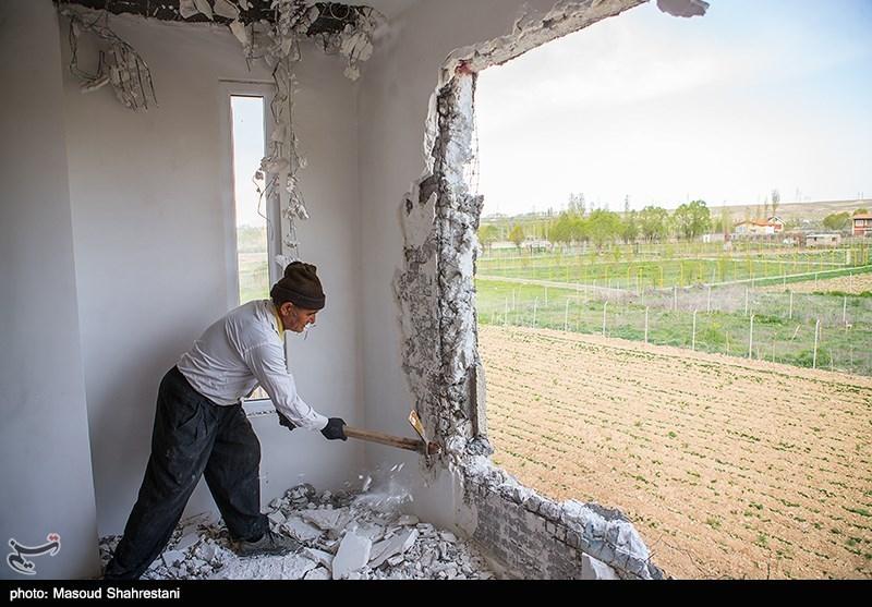 تهران  1200 مورد ساختوساز غیرمجاز در شهرستان دماوند تخریب شد