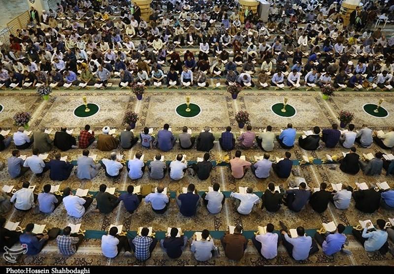 تحلیل و بررسی نمایش تلویزیونی آیین جزء خوانی قرآن در ماه رمضان