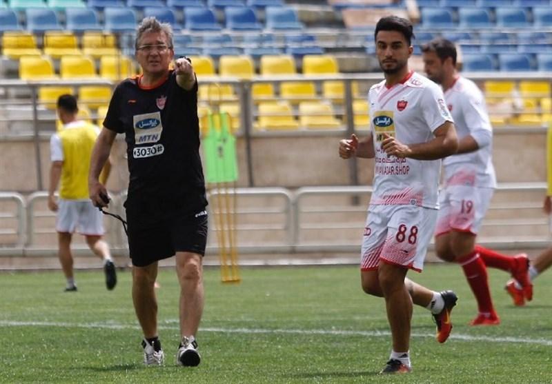 برانکو تمرین تیم را خلوت کرد/ سفر زودهنگام دو پرسپولیسی به اصفهان