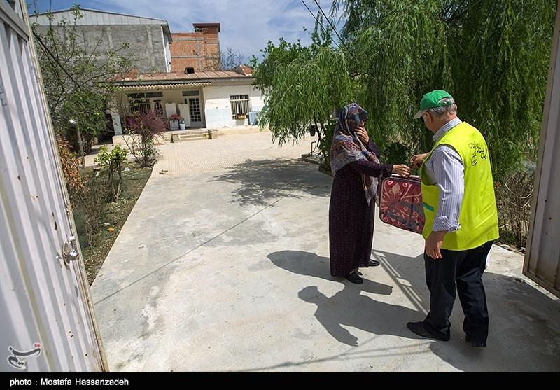 کمکهای خادمیاران ورزش رضوی در مناطق سیلزده آققلا توزیع شد
