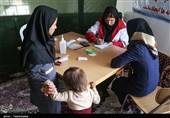 خدماترسانی کاروانهای سلامت به سیلزدگان گلستانی
