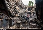 فرماندار تبریز: اتصال جریان برق علت آتشسوزی بازار تبریز بود/125 مغازه از 50 تا 100 درصد آسیب دیدند