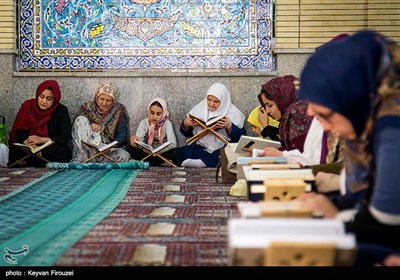 People Gather to Recite Quran in Iran's Kurdistan