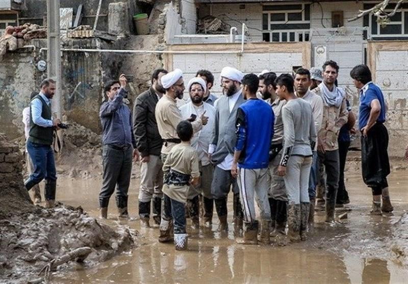 روحانیون و مبلغان تا پایان ماه رمضان در مناطق سیلزده گلستان باقی میمانند