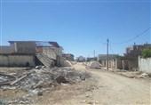 وضعیت قرمز سلامت سیلزدگان در پلدختر بهروایت تصویر