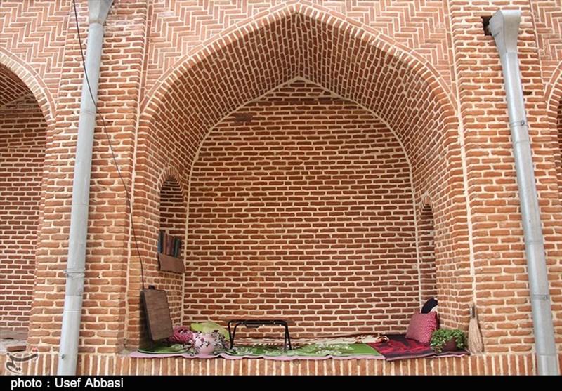مرمت مسجد تاریخی جامع ارومیه به روایت تصویر