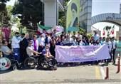 تجمع اعتراضی مدالآوران آسیایی و پاراآسیایی مقابل وزارت ورزش+ تصاویر