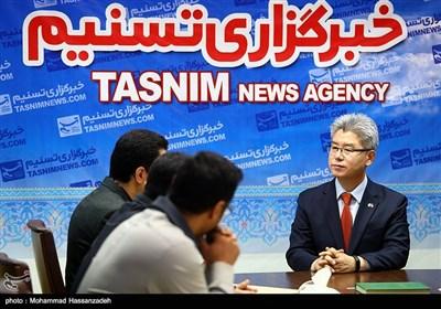 یو جانگ هیان سفیر کره جنوبی در خبرگزاری تسنیم