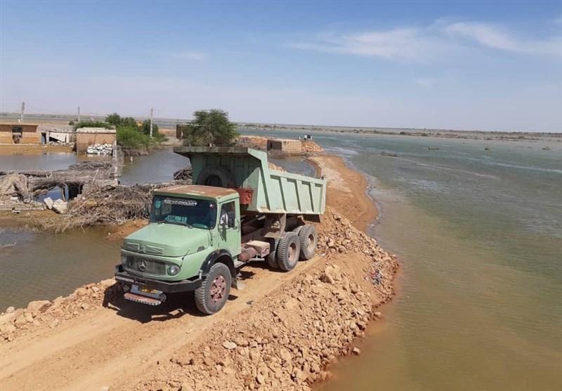 29 هزار متر دایک حفاظتی برای مقابله با سیلاب در گلستان ایجاد شد