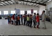 اهواز  بازارچه یادمان شهید «علمالهدی» محل اسکان سیلزدگان خوزستانی+ تصویر