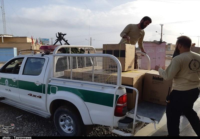 روایت شیخ عشایر باوی از همدلی شگفتانگیز سپاه و ارتش با مردم در سیل خوزستان + فیلم