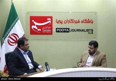 محمدمهدی دانی رییس باشگاه پویا و سعید خال مدیرعامل سازمان بهشت زهرا