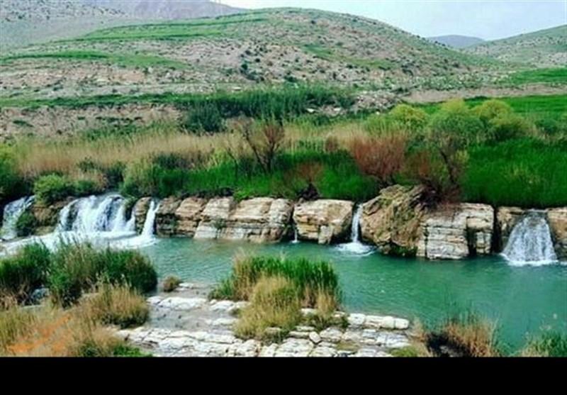 """بالصور ... مدینة """"ایوان """" و""""شلال بلیه"""" فی محافظة ایلام"""