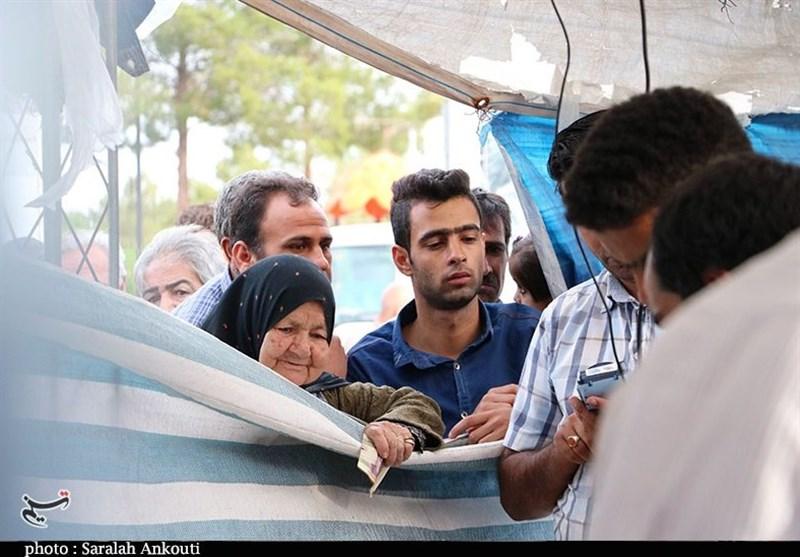 نمایشگاه طرح ضیافت در کرمان به روایت تصویر