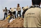 جلوهای از کمکرسانی دانشجویان بسیجی خوزستان به سیلزدگان + تصاویر