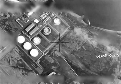 بالفیدیو..مشاهد عن عملیة لسلاح الجو المسیر الیمنی على مطار أبو ظبی
