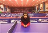 دعوت از دختر پینگپنگباز ایرانی به اردو و مسابقات هوپس جهانی