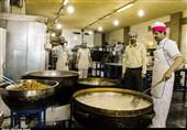 پخت زولبیا و بامیه در کاشان + تصاویر